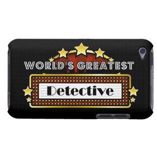 World s Greatest Detective Barely There iPod Cases