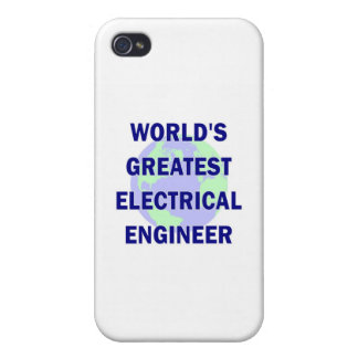 World s Greatest Electrical Engineer Cover For iPhone 4