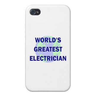 World s Greatest Electrician iPhone 4/4S Covers