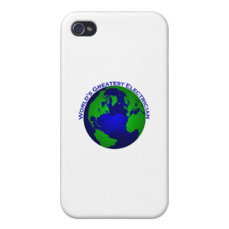 World s Greatest Electrician Cover For iPhone 4
