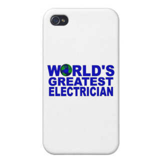 World s Greatest Electrician iPhone 4/4S Cases