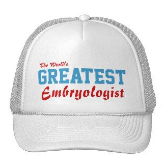 World s greatest Embryologist Trucker Hat