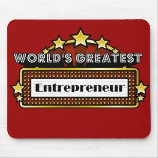 World s Greatest Entrepreneur Mouse Pads