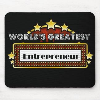 World s Greatest Entrepreneur Mousepads