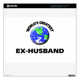 """World s Greatest Ex-Husband Skins For 11"""" MacBook Air"""