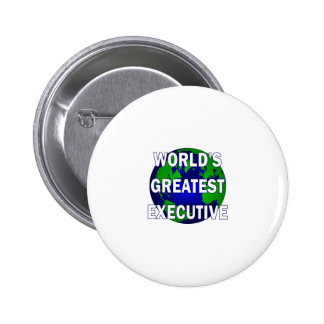 World s Greatest Executive Pin