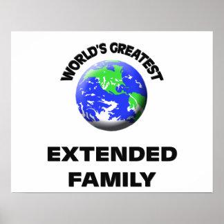 World s Greatest Extended Family Poster
