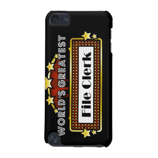 World s Greatest File Clerk iPod Touch (5th Generation) Case