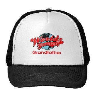 World s Greatest Grandfather Hats