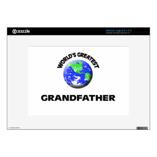 World s Greatest Grandfather Skins For Large Netbooks
