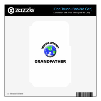 World s Greatest Grandfather Skins For iPod Touch 3G