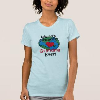 World's Greatest Grandma Heart T-Shirt