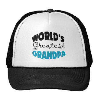 World s Greatest Grandpa Trucker Hat