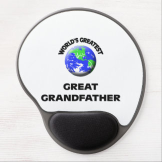 World s Greatest Great Grandfather Gel Mousepad