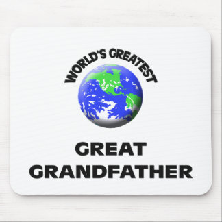 World s Greatest Great Grandfather Mousepad