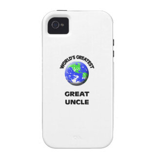World s Greatest Great Uncle Case-Mate iPhone 4 Cases