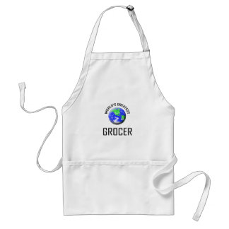 World s Greatest Grocer Apron