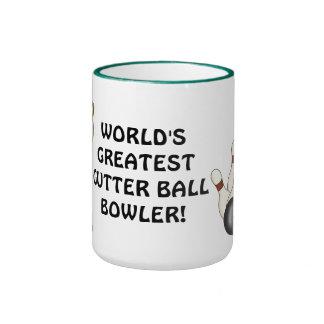 World s Greatest Gutter Ball Bowler coffee mug