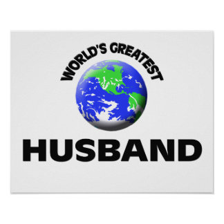 World s Greatest Husband Poster