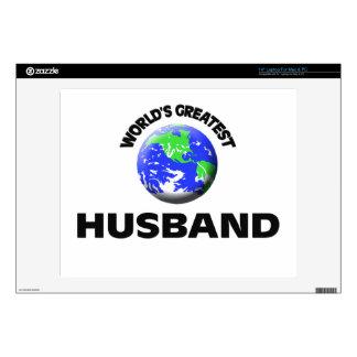 World s Greatest Husband Skin For Laptop