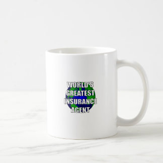 World s Greatest Insurance Agent Coffee Mug