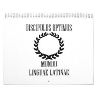 World's Greatest Latin Student (Male) Calendar