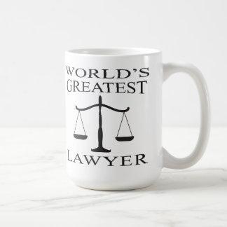 World s Greatest Lawyer Mug