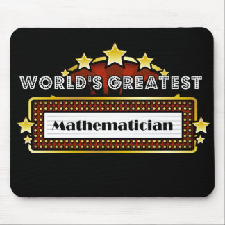 World s Greatest Mathematician Mouse Pad