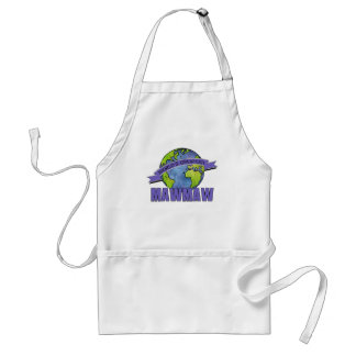 World's Greatest MawMaw Heart Adult Apron