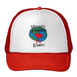 World's Greatest Pa Heart Trucker Hat