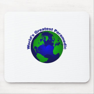 World;s Greatest Paramedic Mouse Pad