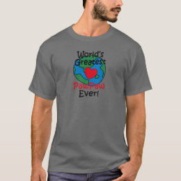 World's Greatest PawPaw Heart T-Shirt