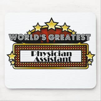 World s Greatest Physician Assistant Mousepads