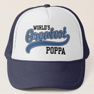 World's Greatest Poppa Trucker Hat