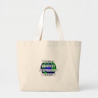 World s Greatest Respiratory Therapist Canvas Bags