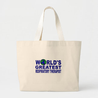 World s Greatest Respiratory Therapist Tote Bags