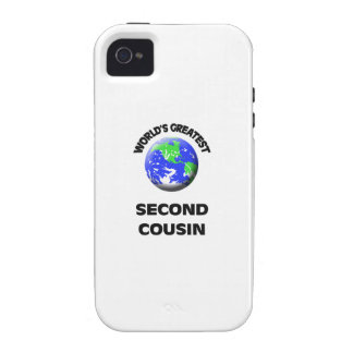World s Greatest Second Cousin Vibe iPhone 4 Cases