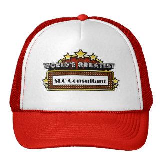 World s Greatest SEO Consultant Trucker Hat