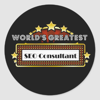 World s Greatest SEO Consultant Stickers