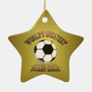 World s Greatest Soccer Coach Ornament