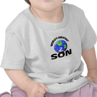 World s Greatest Son T-shirt