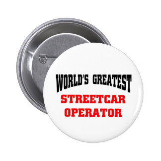World s greatest streetcar operator buttons