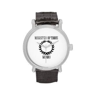 World's Greatest Teacher (Male) Wristwatch