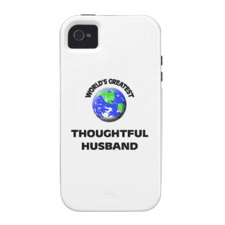 World s Greatest Thoughtful Husband iPhone 4 Cover