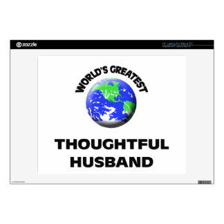 World s Greatest Thoughtful Husband Skin For Laptop