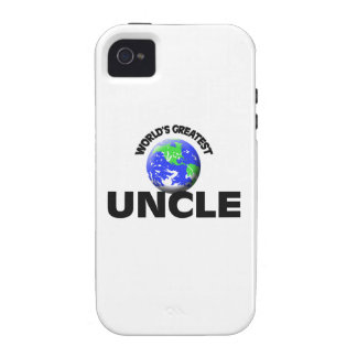 World s Greatest Uncle Case-Mate iPhone 4 Cover
