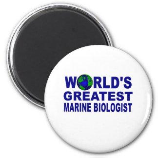 World s Gretest Marine Biologist Refrigerator Magnets