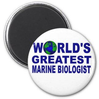 World s Gretest Marine Biologist Refrigerator Magnet