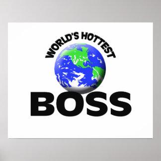 World s Hottest Boss Poster