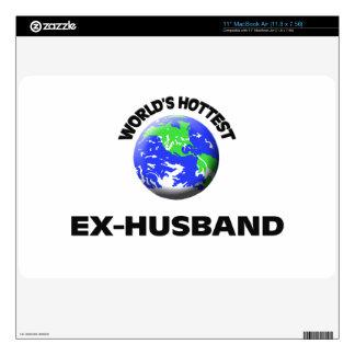 World s Hottest Ex-Husband MacBook Decals